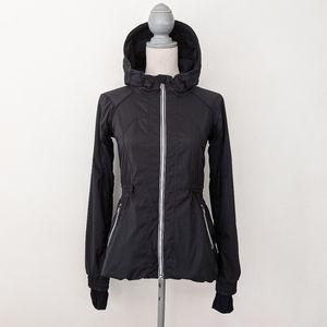 Rare Lululemon Run Resolution Jacket Black